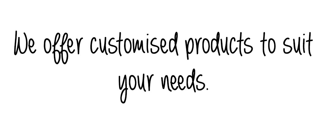 The Wheatbag Company offers customised solutions for your companies needs.